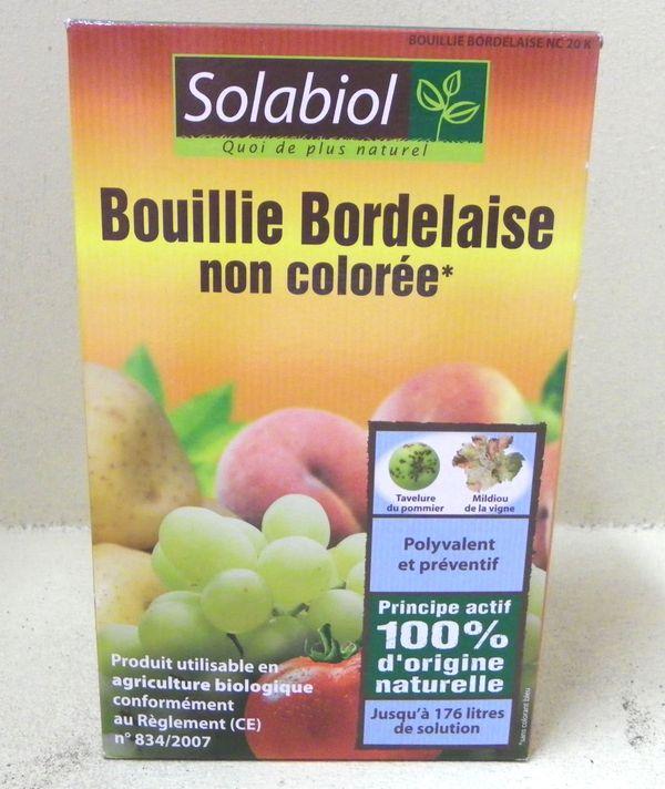 Bouillie bordelaise non color e lutte biologique et protection - Traitement arbres fruitiers avec bouillie bordelaise ...