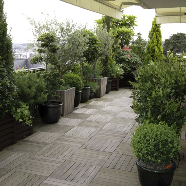 Nos kits 39 pr ts planter 39 balcon - Amenager sa terrasse d appartement ...